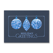 Ornaments in Blue